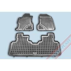Rezaw Plast Gummi Fußmatten für Honda Civic VII (5-türer)