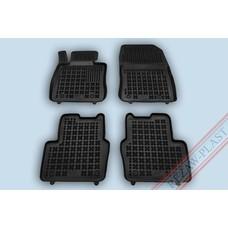 Rezaw Plast Gummi Fußmatten für Mazda 2 III
