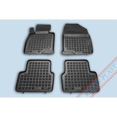 Rezaw Plast Gummi Fußmatten für Mazda 3 III