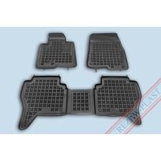 Rezaw Plast Gummi Fußmatten für Mitsubishi Pajero III