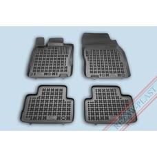 Rezaw Plast Gummi Fußmatten für Nissan Qashqai II