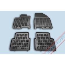 Rezaw Plast Gummi Fußmatten für Nissan Qashqai+2