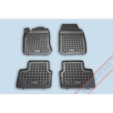 Rezaw Plast Gummi Fußmatten für Opel Vectra B