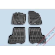 Rezaw Plast Gummi Fußmatten für Dacia Logan MCV