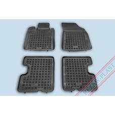 Rezaw Plast Gummi Fußmatten für Dacia Logan SW