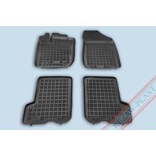 Rezaw Plast Gummi Fußmatten für Dacia Sandero II