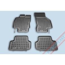 Rezaw Plast Gummi Fußmatten für Seat Leon III
