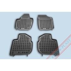 Rezaw Plast Gummi Fußmatten für Skoda Rapid / Seat Toledo