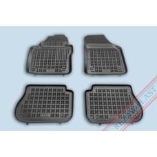 Rezaw Plast Gummi Fußmatten für Volkswagen Caddy