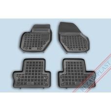 Rezaw Plast Gummi Fußmatten für Volvo S60 II / V60 / XC60