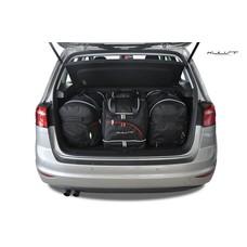 Kjust Reisetaschen Set für Volkswagen Golf Sportsvan VII