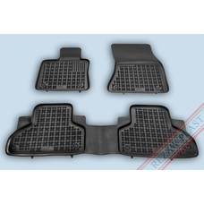 Rezaw Plast Gummi Fußmatten für BMW X5 F15 / X6 F16