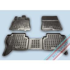 Rezaw Plast Gummi Fußmatten für Mitsubishi Pajero IV
