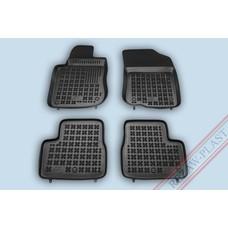 Rezaw Plast Gummi Fußmatten für Peugeot 208 5-türer / GTI / 2008