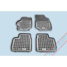 Rezaw Plast Gummi Fußmatten für Peugeot 301 / Citroen C-Elysse