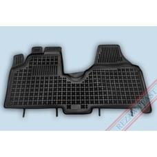 Rezaw Plast Gummi Fußmatten für Citroen Jumpy II / Fiat Scudo II / Peugeot Expert II / Toyota ProAce