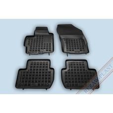 Rezaw Plast Gummi Fußmatten für Peugeot 4007 / Citroen C-Crosser / Mitsubishi Outlander II