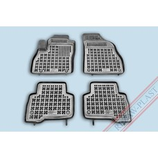 Rezaw Plast Gummi Fußmatten für Citroen Nemo / Fiat Fiorino / Fiat Qubo