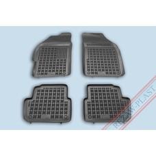 Rezaw Plast Gummi Fußmatten für Chevrolet Spark II