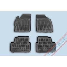 Rezaw Plast Gummi Fußmatten für Chevrolet Spark II FL