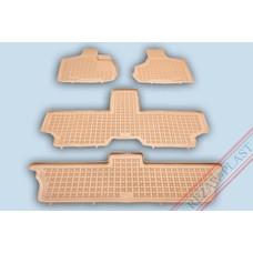 Rezaw Plast Gummi Fußmatten für Chrysler Voyager IV