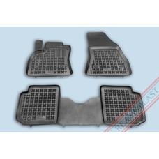 Rezaw Plast Gummi Fußmatten für Fiat 500L / 500L Trekking / 500L Living 7-Sitzer