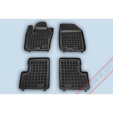 Rezaw Plast Gummi Fußmatten für Fiat 500X