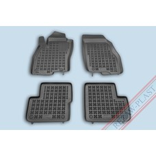 Rezaw Plast Gummi Fußmatten für Fiat Grande Punto