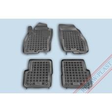 Rezaw Plast Gummi Fußmatten für Fiat Punto III