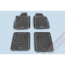Rezaw Plast Gummi Fußmatten für Fiat Panda II
