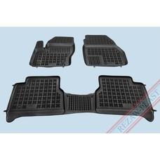 Rezaw Plast Gummi Fußmatten für Ford Tourneo Connect II / Transit Connect II