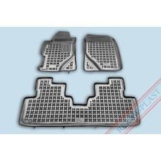Rezaw Plast Gummi Fußmatten für Honda Civic VII Limousine