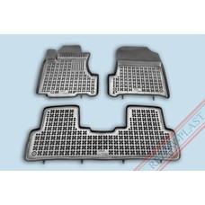 Rezaw Plast Gummi Fußmatten für Honda CRV III