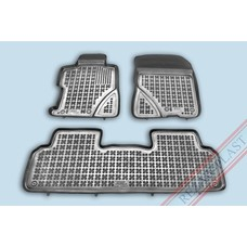 Rezaw Plast Gummi Fußmatten für Honda Civic VIII Limousine