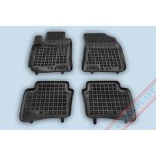 Rezaw Plast Gummi Fußmatten für Hyundai i20 II