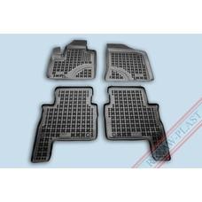 Rezaw Plast Gummi Fußmatten für Hyundai Santa Fe II