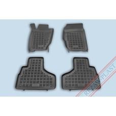Rezaw Plast Gummi Fußmatten für Jeep Cherokee III / Liberty