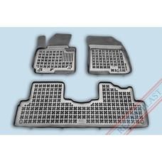 Rezaw Plast Gummi Fußmatten für Kia Carens IV