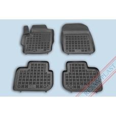 Rezaw Plast Gummi Fußmatten für Mitsubishi Colt 3-türer