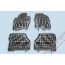Rezaw Plast Gummi Fußmatten für Nissan Navara