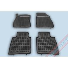 Rezaw Plast Gummi Fußmatten für Nissan Pulsar