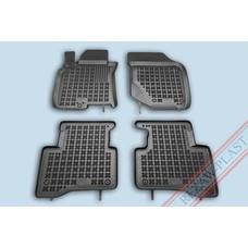 Rezaw Plast Gummi Fußmatten für Nissan X-Trail I