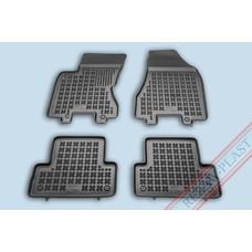 Rezaw Plast Gummi Fußmatten für Nissan X-Trail II