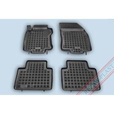 Rezaw Plast Gummi Fußmatten für Nissan X-Trail III