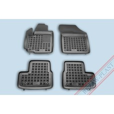 Rezaw Plast Gummi Fußmatten für Opel Agila B