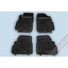 Rezaw Plast Gummi Fußmatten für Opel Karl