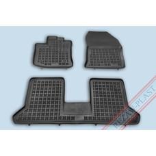 Rezaw Plast Gummi Fußmatten für Dacia Dokker