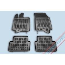 Rezaw Plast Gummi Fußmatten für Renault Laguna II