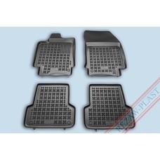 Rezaw Plast Gummi Fußmatten für Renault Laguna III