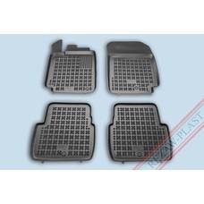 Rezaw Plast Gummi Fußmatten für Renault Latitude